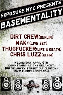 MAKr live at Basementality@The Delancey•NYC•April 06•2011