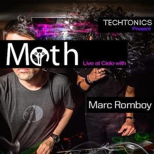 Moth (illich Mujica & Luis Padron) opening set @Techtonics w/ Marc Romboy•Cielo•NYC