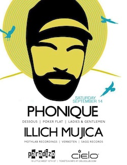 illich Mujica@Cielo NYC•September 14•2013