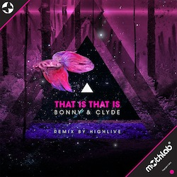 OUT NOW•Bonny & Clyde•That Is That Is (incl. HighLive remix)•December 17•2013