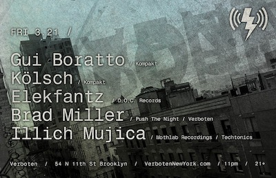 illich Mujica@Verboten•NYC•March 21•2014