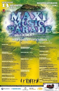 Moth Square@Maxi Music Parade•Italy•August 13•2014