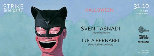 Luca Bernabei@Strike afterparty•Milan•October 31•2014
