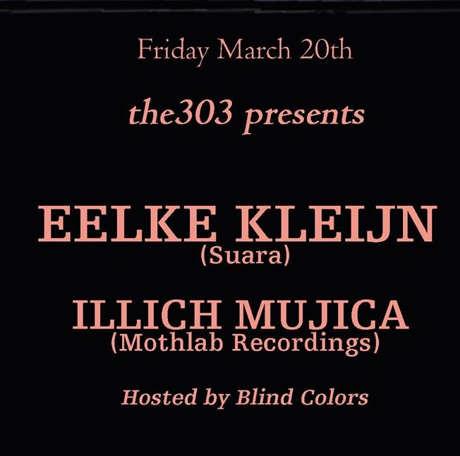 Illich Mujica I DJ I Producer will be supporting Eelke Klejin@ Louie and Chain • NYC