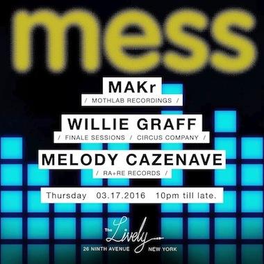 MAKr Live at Mess@NYC