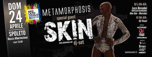 MothLab@Metamorphosis w/ Skin • Spoleto a Colori