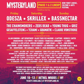 illich Mujica@Mysteryland NYC
