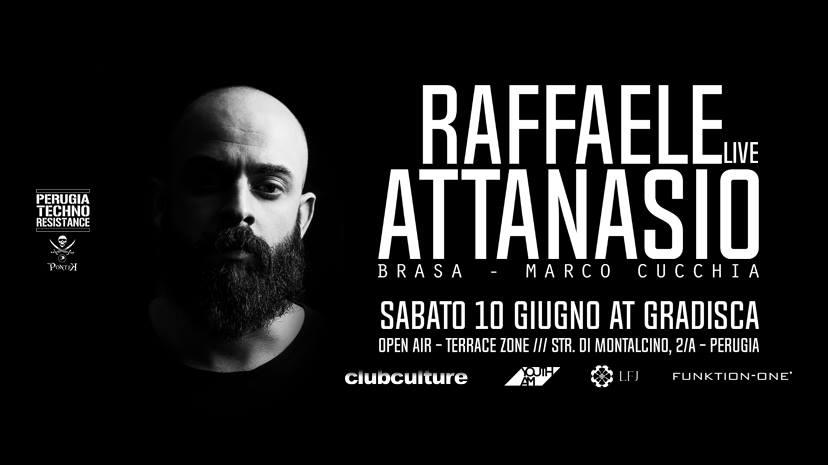 Perugia Techno Resistance Present: Raffaele Attanasio – Live