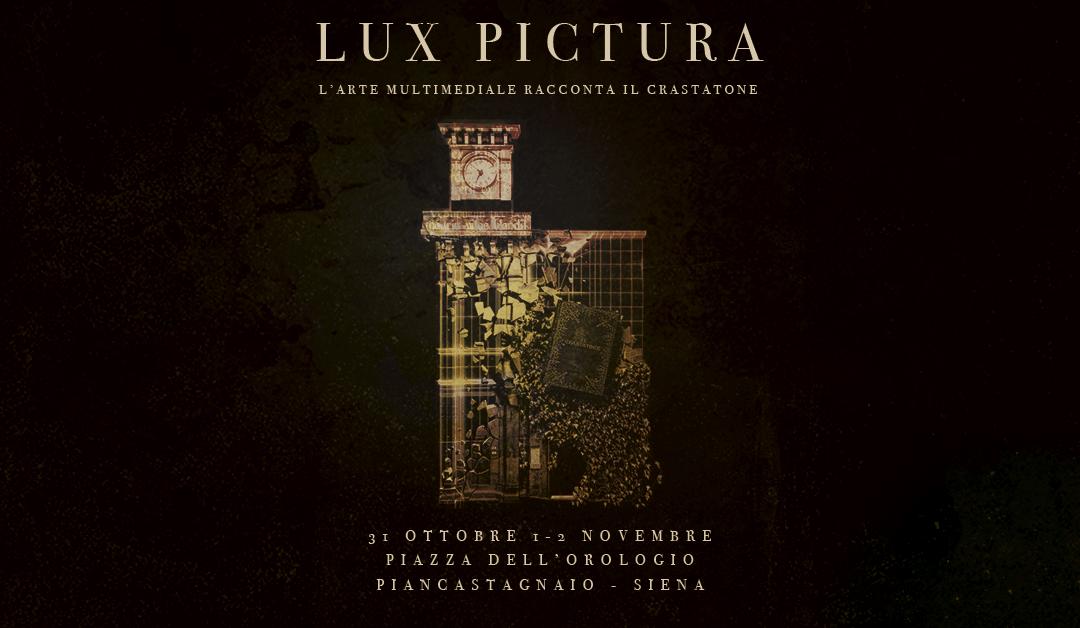 Lux Pictura – L'Arte multimediale racconta il Crastatone.
